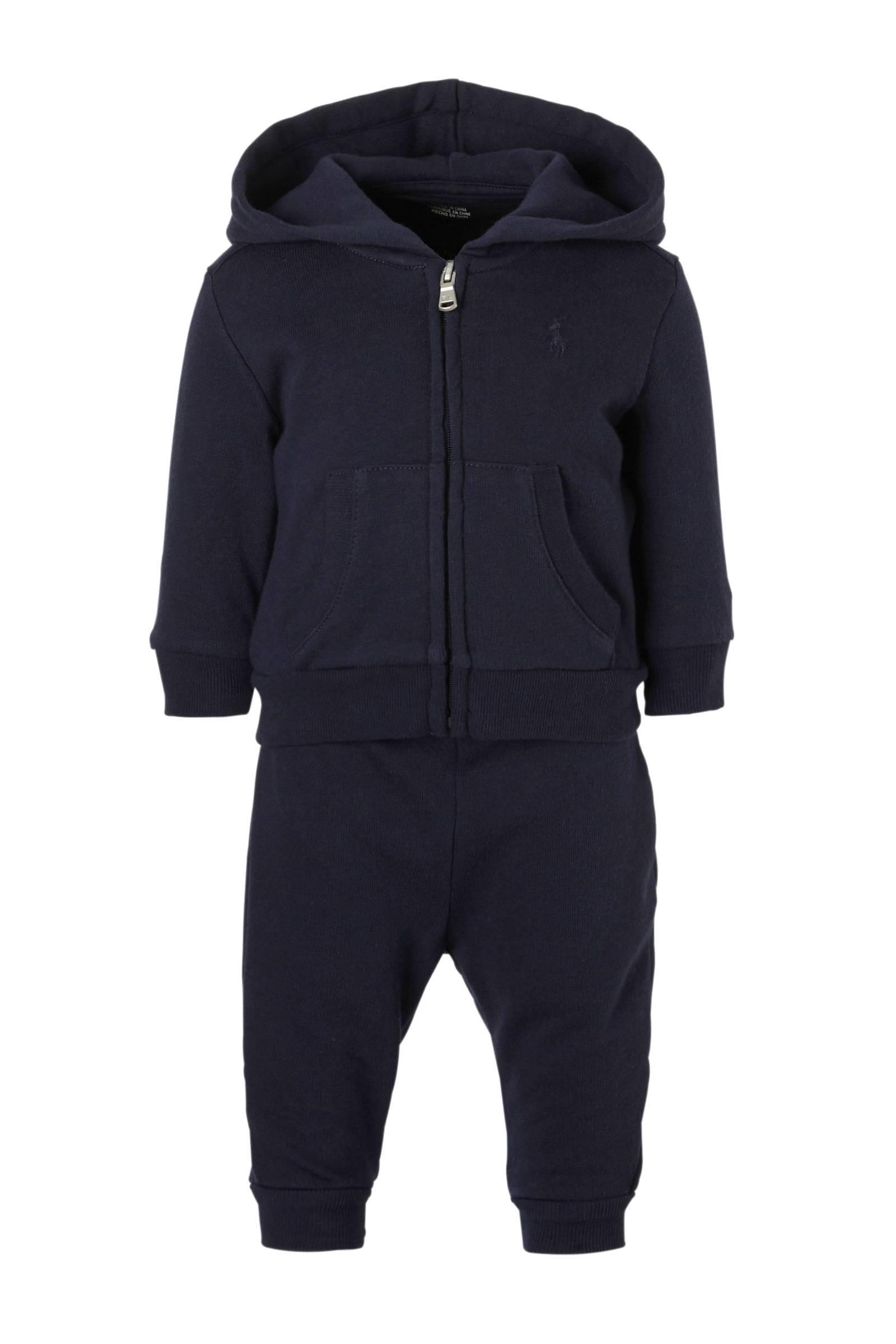 POLO Ralph Lauren baby sweatvest + sweatpants blauw (jongens)