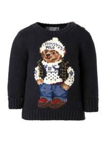 POLO Ralph Lauren baby trui met wol blauw (jongens)