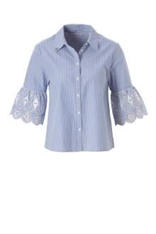 blouse met streepdessin