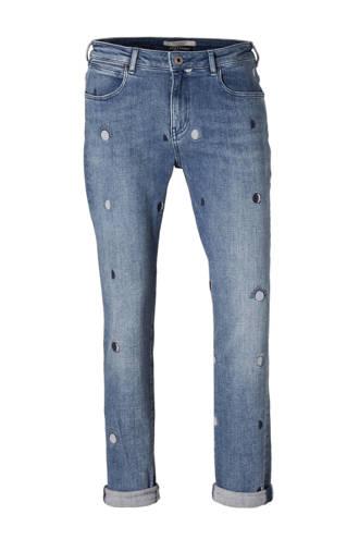 jeans met borduursels