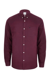 River Island Big & Tall Oxford overhemd (heren)