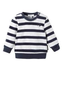 baby sweater Verona grijs/marine
