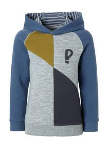 sweater Tygo grijs/blauw