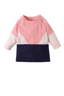 baby jurk Tyrese roze/blauw