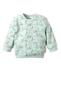 Noppies newborn sweater Tavares mintgroen (meisjes)