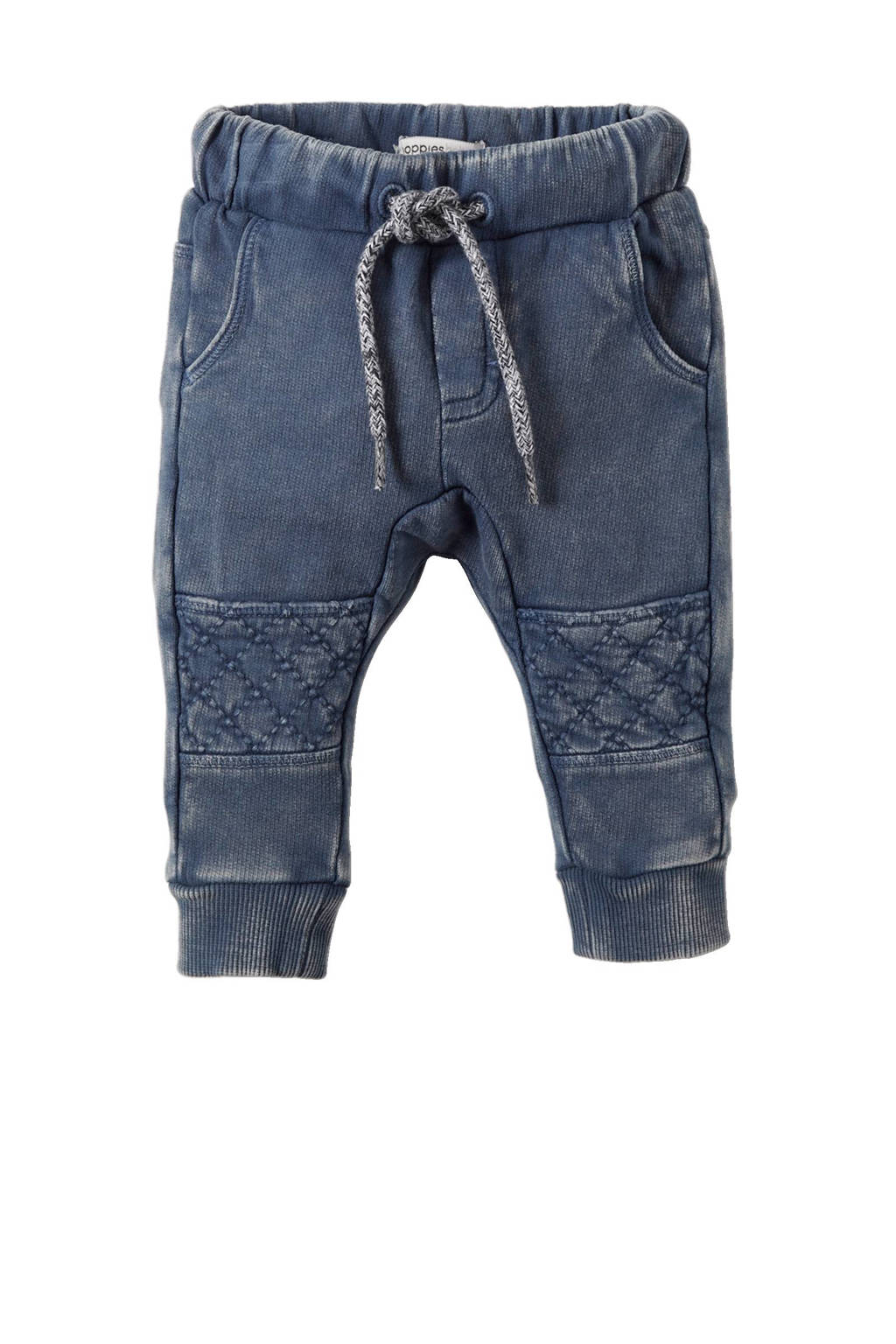 Noppies   baby sweatpants Troutdale blauw, middenblauw