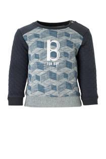 Noppies baby sweater Tracy grijs (jongens)