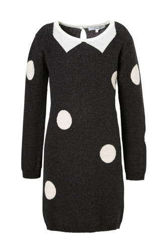 jurk Westwood met stippen grijs