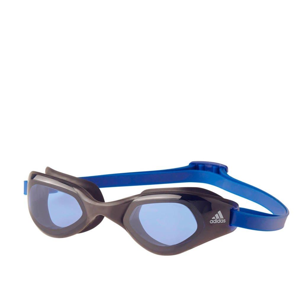 adidas performance persistar comfort zwembril zwart, Zwart/blauw