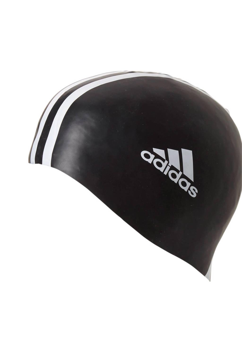 adidas performance unisex badmuts zwart/wit, Zwart/wit