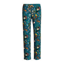 product afbeelding Essenza pyjamabroek all over print petrol (dames)
