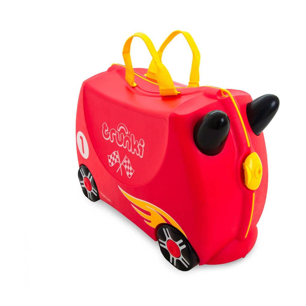 Trunki Ride-on kinderkoffer racewagen