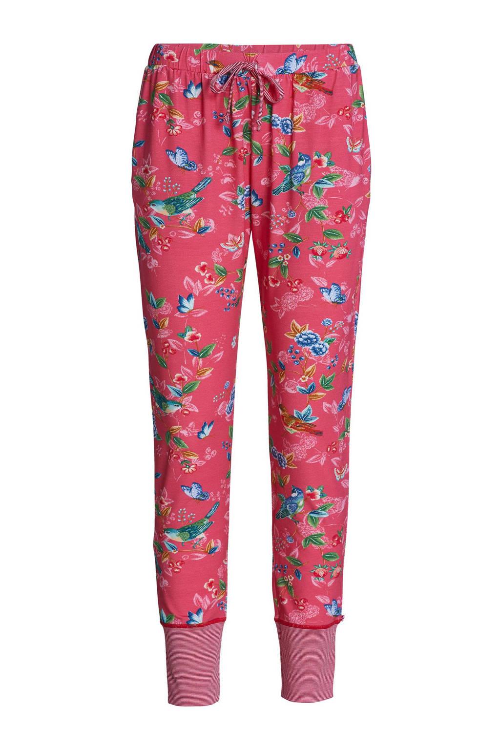 Pip Studio Pyjamabroek All Over Print Roze Blauw Groen