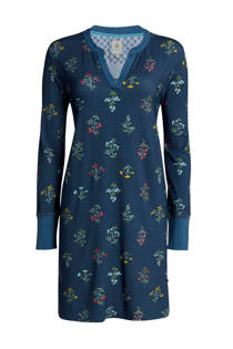 Pip Studio nachthemd all over print blauw (dames)