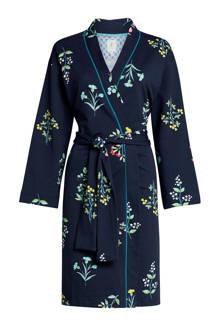 kimono all over print marine