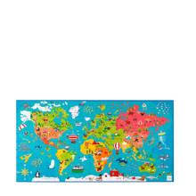 wereldkaart  legpuzzel 150 stukjes