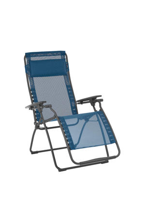 Futura relax campingstoel blauw
