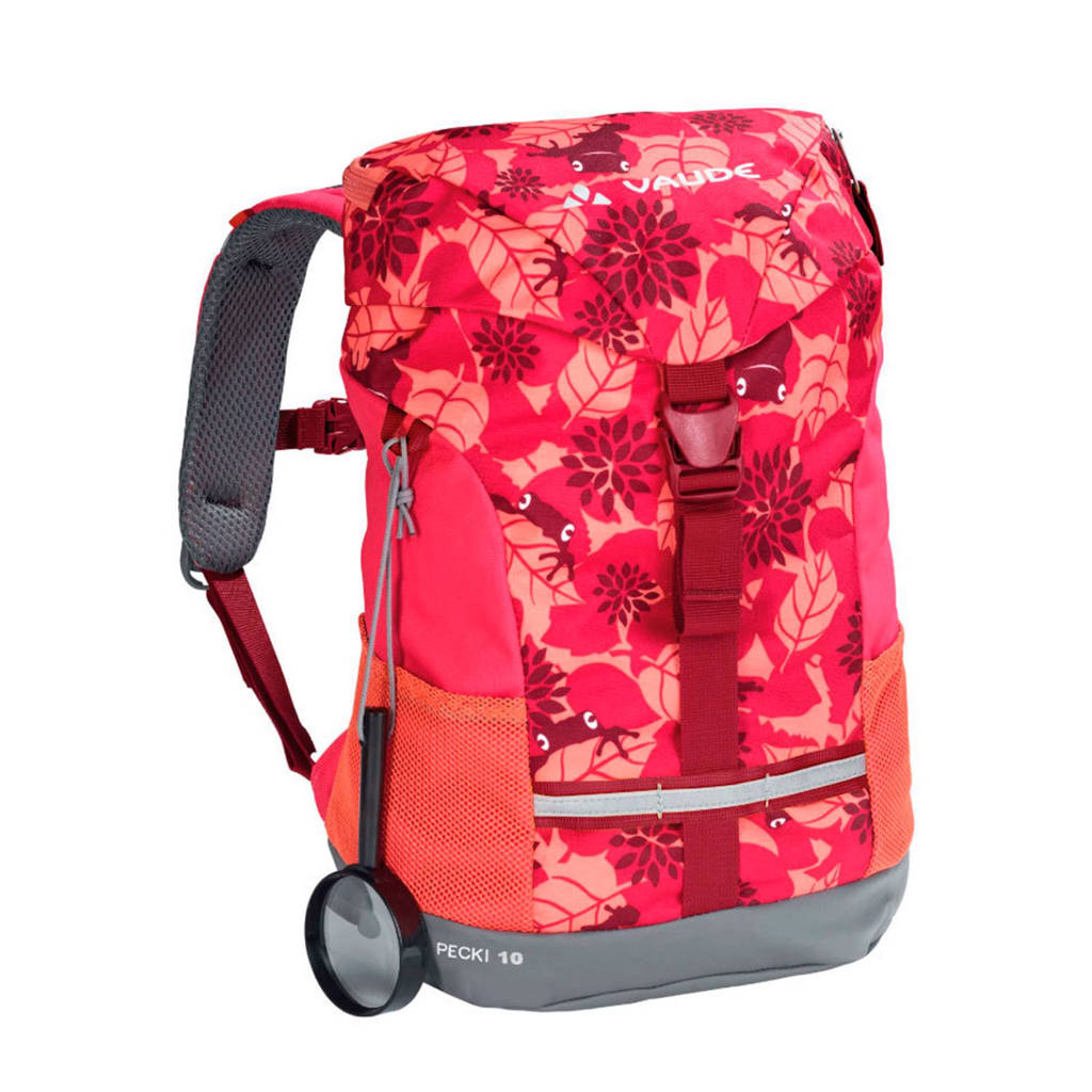 Vaude  rugzak Pecki roze/rood - 10 liter, Roze/rood