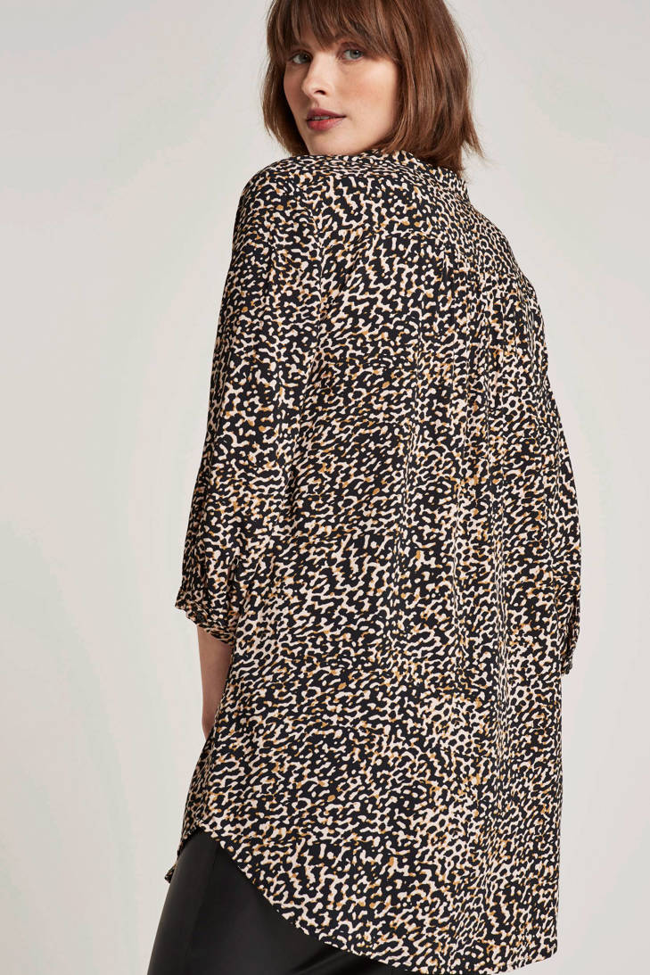 over print blousejurk Adney all met FREEQUENT nSYqAY
