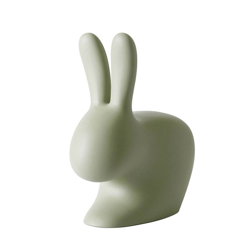 Qeeboo Rabbit Chair baby, Groen