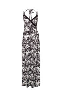 Miss Etam Regulier jurk met print wit (dames)