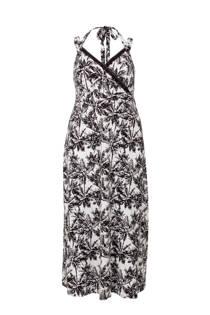 Miss Etam Plus jurk met print wit