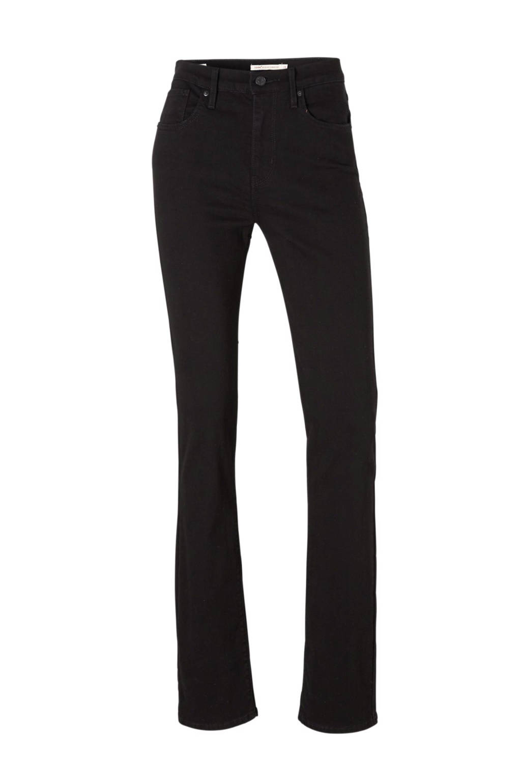 Levi's 724 high rise straight fit jeans, Black Sheep