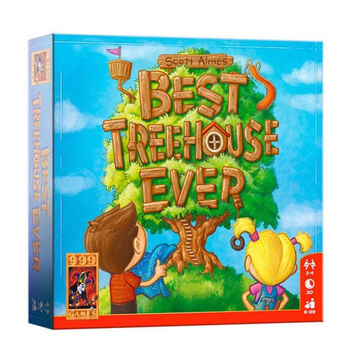 999 Games Best Treehouse Ever kaartspel