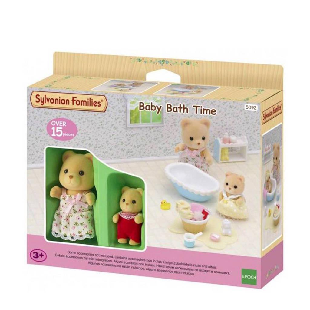 Sylvanian Families  baby`s badtijd