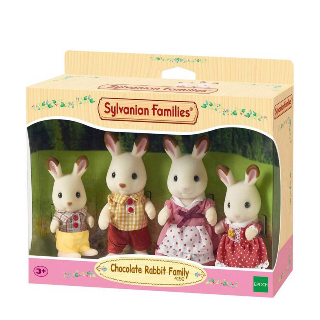 Sylvanian Families  Familie Chocoladekonijn 4150