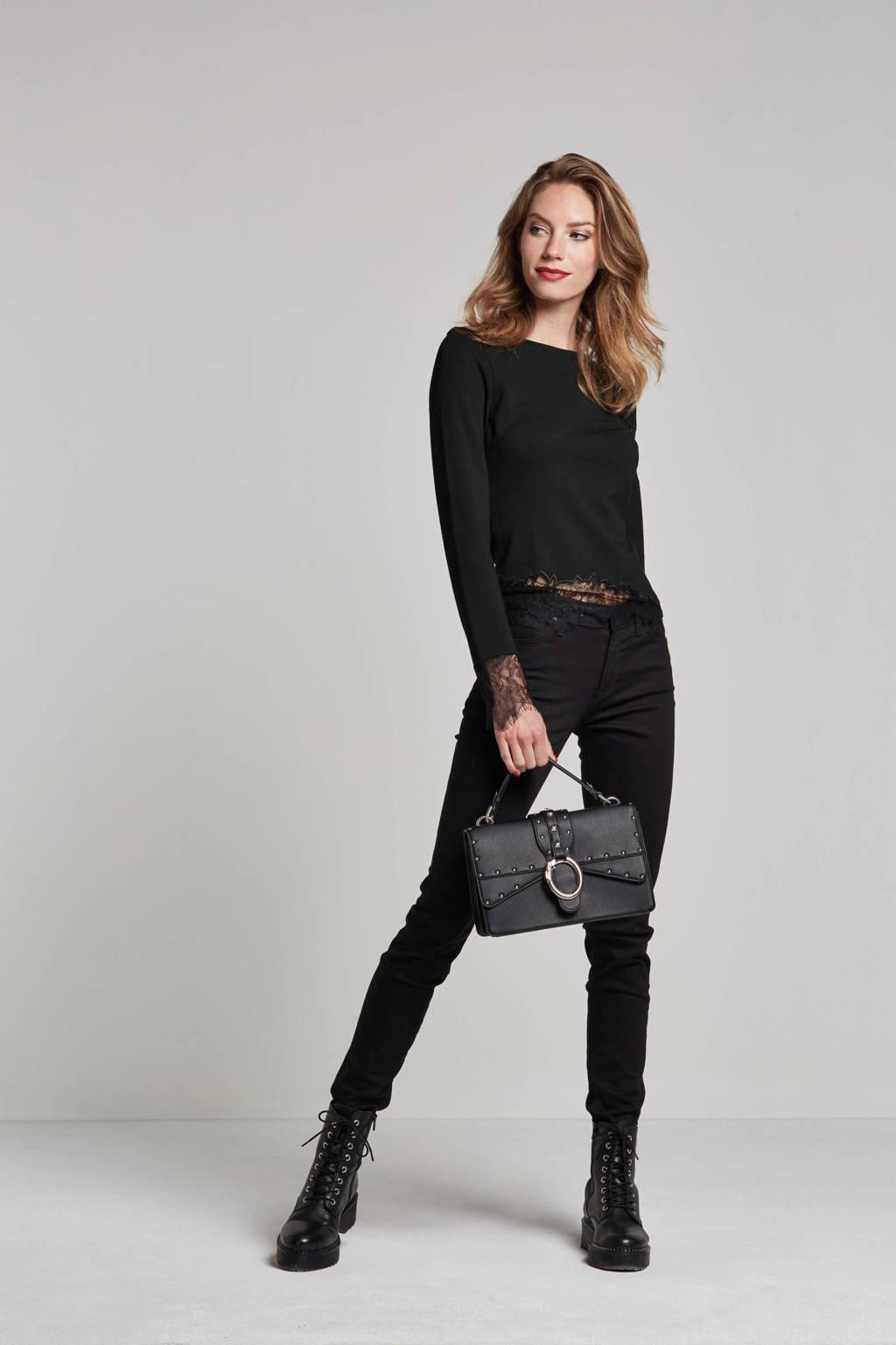 Lee Scarlett skinny fit jeans, Black rinse
