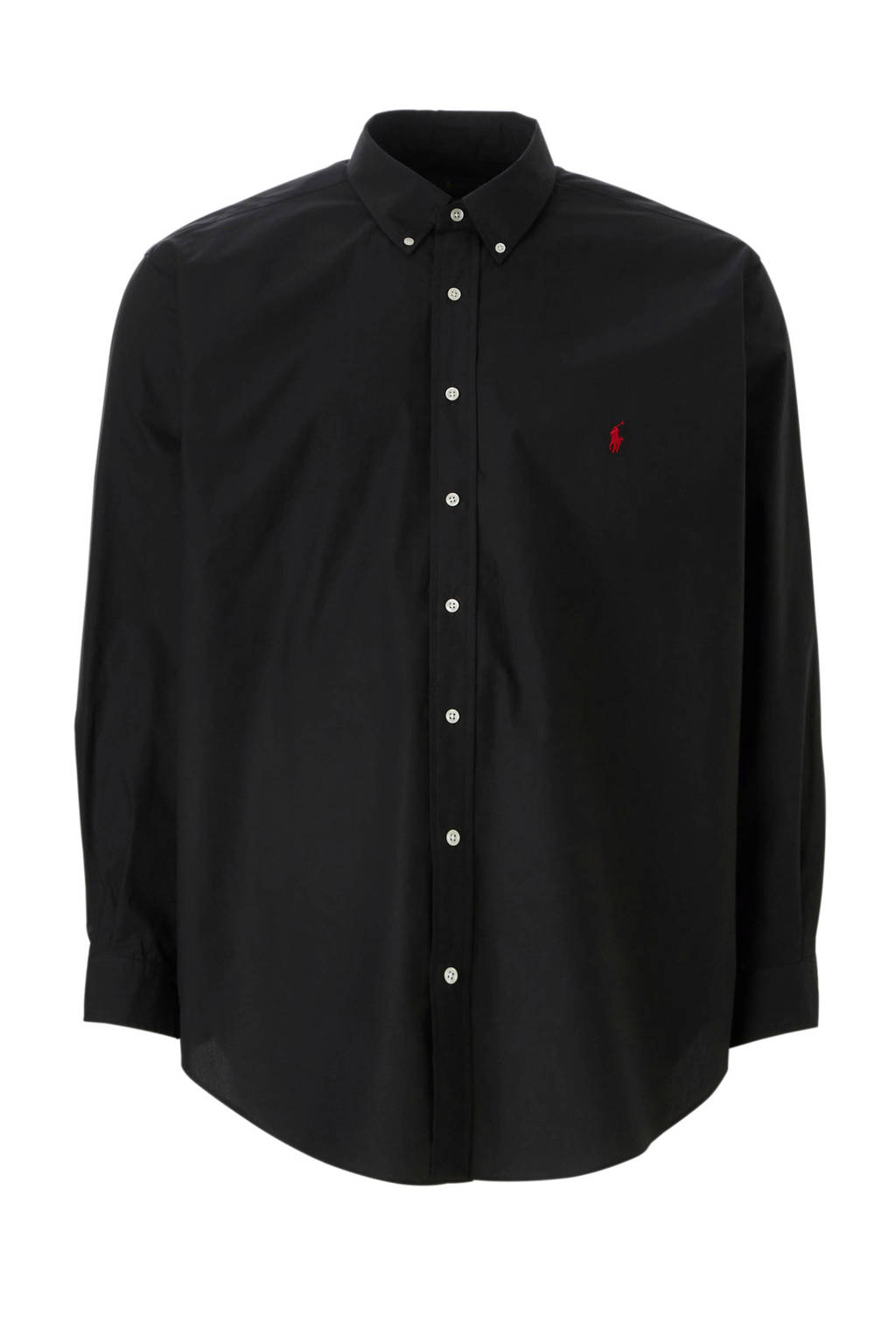 POLO Ralph Lauren Big & Tall +size plussize overhemd, Zwart