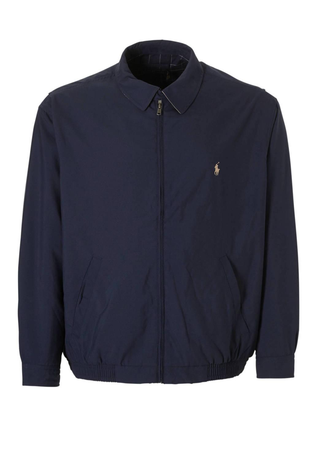 POLO Ralph Lauren Big & Tall +size plussize jas, Donkerblauw