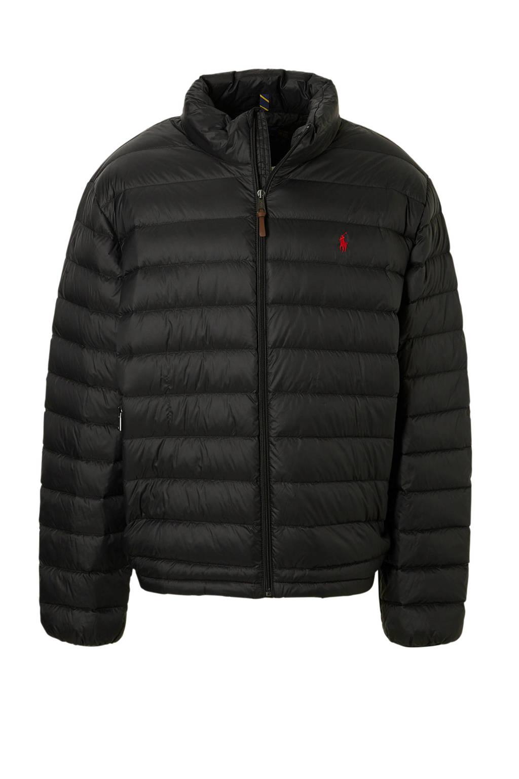 POLO Ralph Lauren Big & Tall +size plussize jas, Zwart