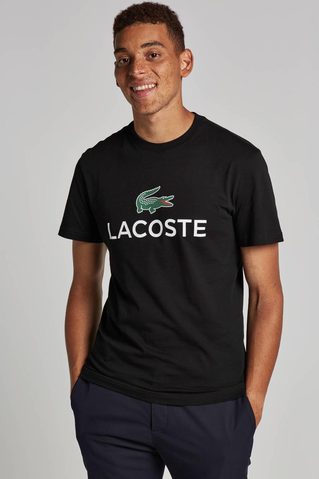 Lacoste T-shirt, Zwart