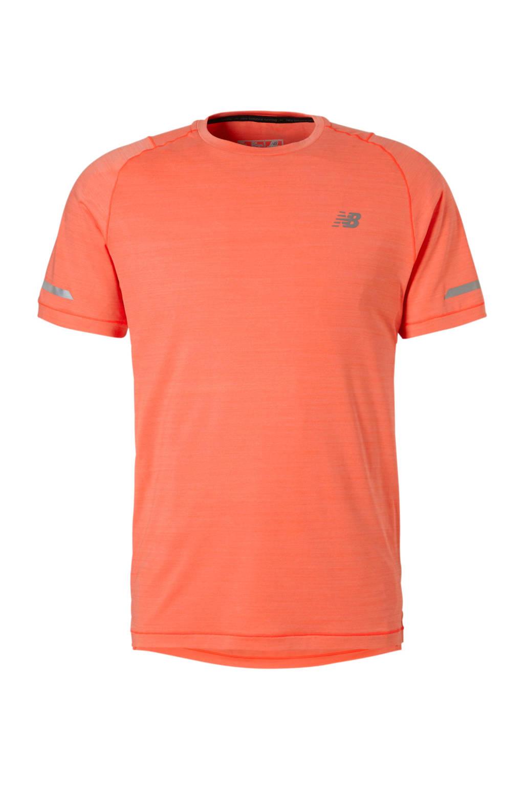 New Balance   sport T-shirt koraalrood, Koraalrood