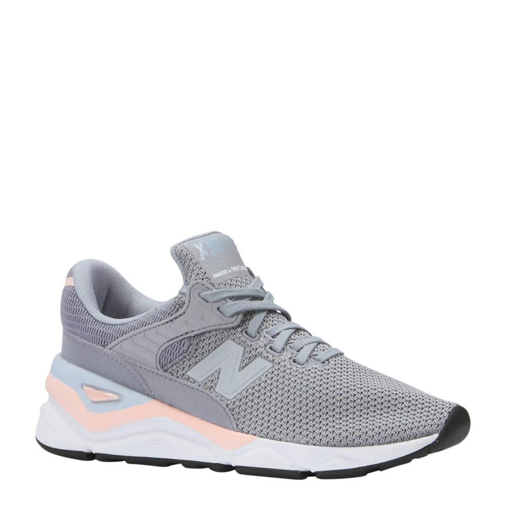 New Balance  sneakers X-90 grijs, Grijs/roze/lila