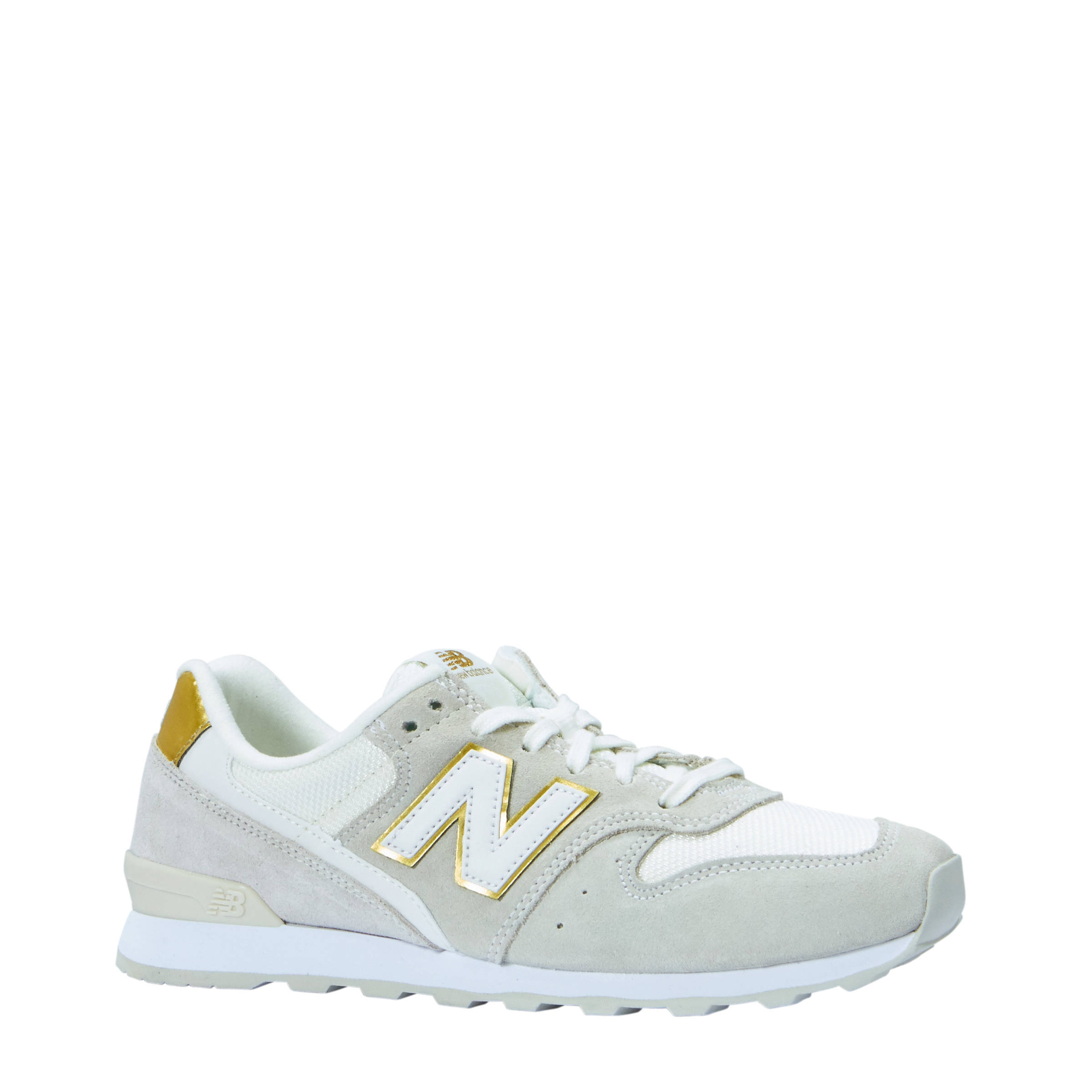 new balance dames wit goud
