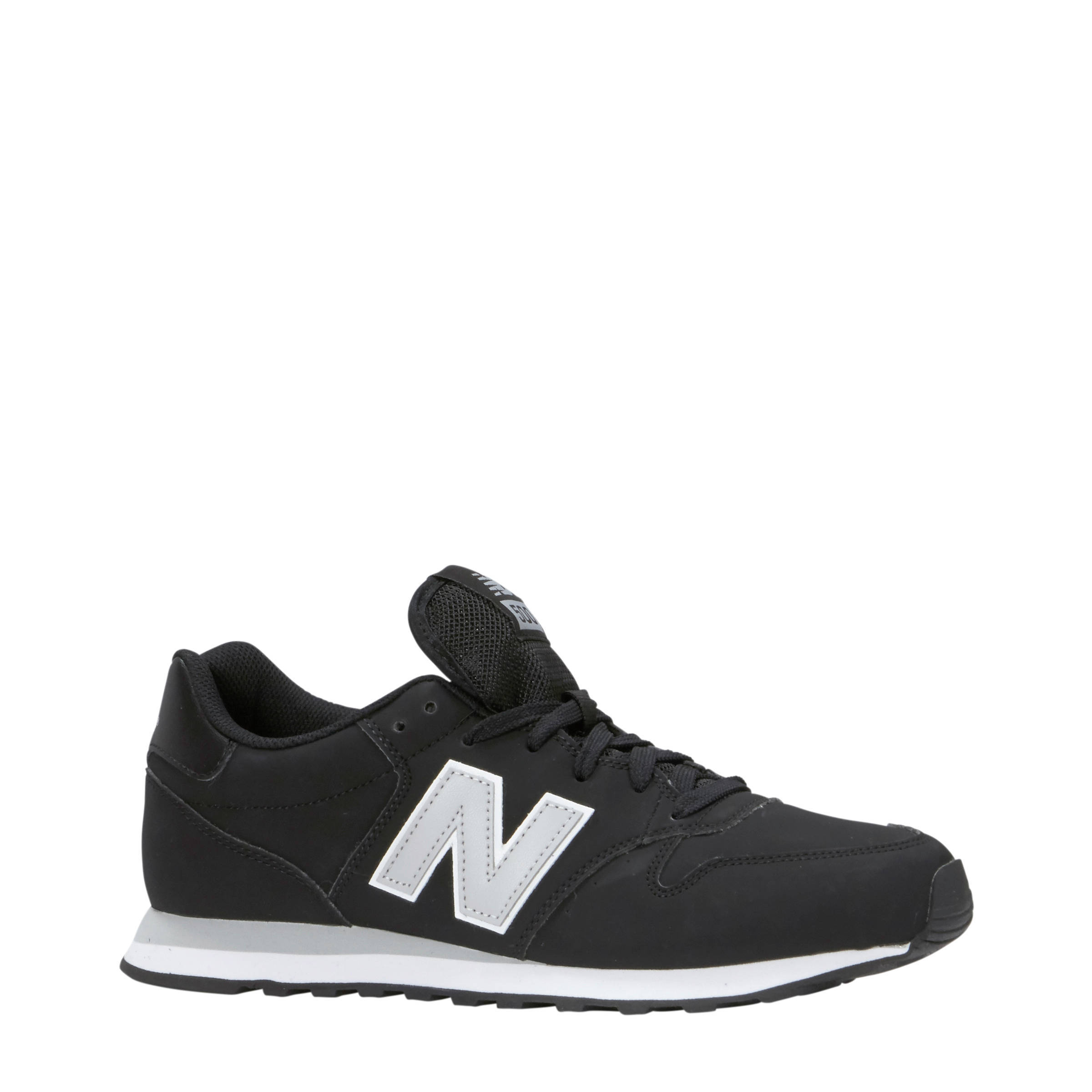 new balance 500 sneakers zwart heren