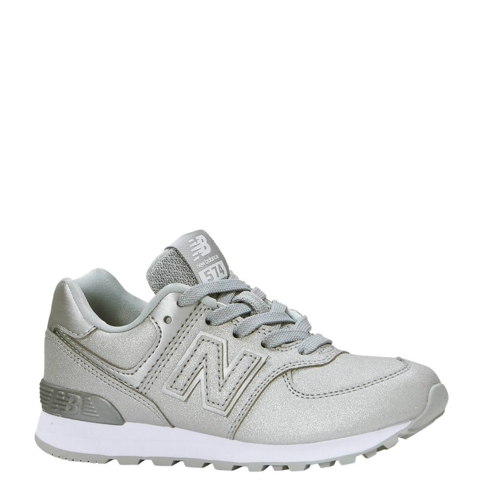 8661177f4a8 New Balance 574 sneakers, Zilver/Grijs/Wit