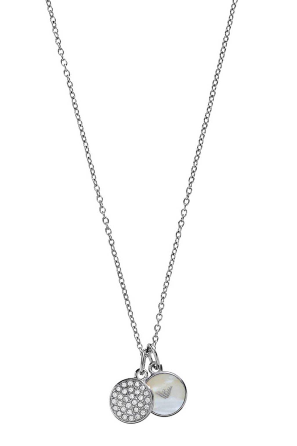 Emporio Armani ketting - EGS2156040, Zilver