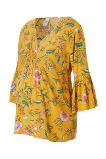 MAMA-LICIOUS positie top met bloemen print (dames)