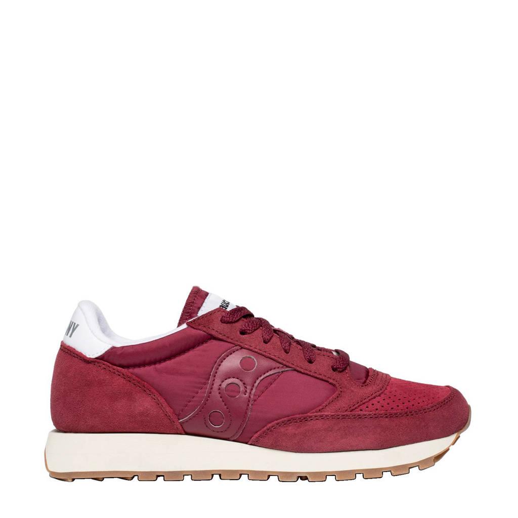 Saucony  Jazz Original sneakers, Donkerrood