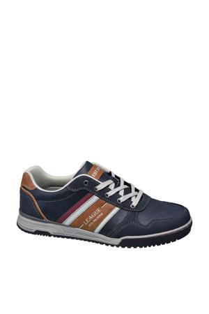 sneakers met strepen marine