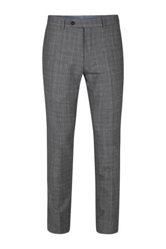 x Van Gils slim fit pantalon Carlow grijs