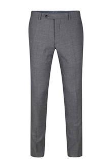 x Van Gils slim fit pantalon Shannon grijs