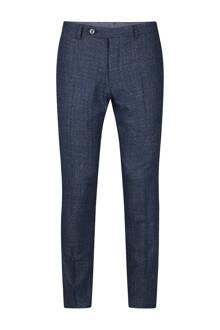 x Van Gils slim fit pantalon Lisburn blauw