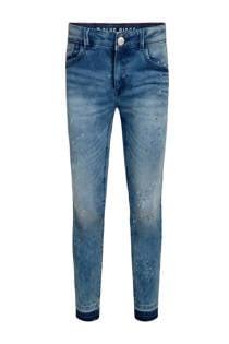 WE Fashion Blue Ridge skinny jeans Kimmie Jade met verfspatten (meisjes)
