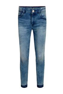 WE Fashion skinny jeans Kimmie Jade met verfspatten (meisjes)