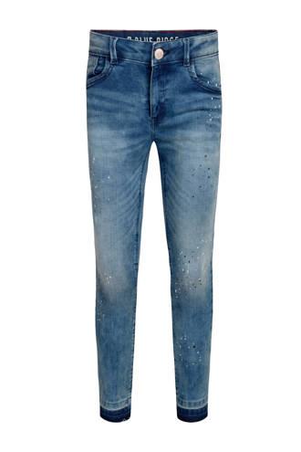 Blue Ridge skinny jeans Kimmie Jade met verfspatten